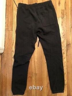 New FOG X Pacsun Essentials Black Sweatpants sz XXS-XXL 2020 fear of god
