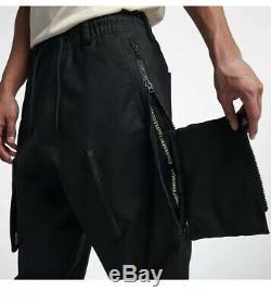 New Nike Nikelab Mens ACG Cargo Pants Black AQ3524 010 Size Xl