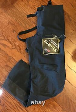 New North Face Summit Series L5 Fuse GTX Gore-Tex Shell Bibs Pants Black sz M