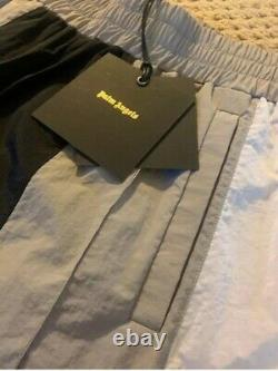 New PALM ANGELS Black Grey White Color Block Track Pants joggers Size XL $665