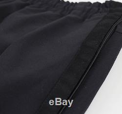 New. TIM COPPENS Black Wool Blend Sweatpants Pants Size M $495
