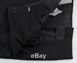 New. TOM FORD Black Cashmere Blend Dress Pants Size 58/42 $1290