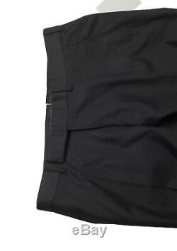 New TOM FORD Black Wool Cashmere Dress Trousers Size 50 / 34 U. S. Pants