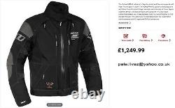 New complete suit Rukka Armas Motorcycle Jacket and Trousers Black EU52 UK42