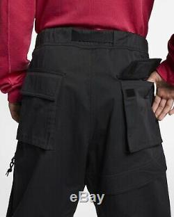 Nike ACG Cargo Pants M BQ7293-010 Black NikeLab Acronym MMW Loose Fit Woven Lab
