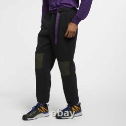 Nike ACG Sherpa Fleece Pant Joggers Black Size S AJ2014 010