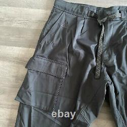 Nike Acg Woven Cargo Trousers Pants X-large (xl) Black (cd7646-011)