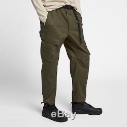 Nike NikeLab Men's Cargo Pants M L Green Black Casual Training Outdoors New