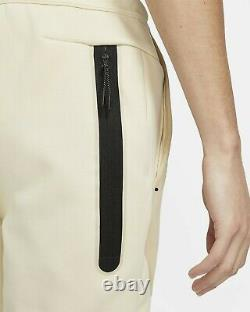 Nike Sportwear Tech Fleece Windrunner Tracksuit Sz L Beach/Grain/Black CU4489-23