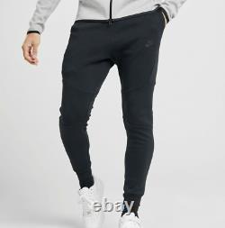 Nike Tech Fleece Men's Joggers Size Large (805162 010) Black