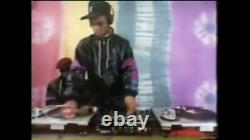 Nike Wet Look track Glanz Nylon Vtg B Boy M L 80s Track Suit Shiny