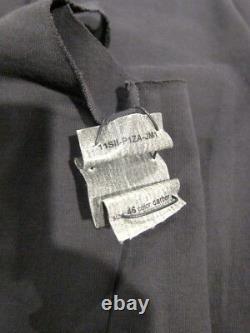 Nwt M. A+ Maurizio Amadei Spiral Zip Pant P1za Poell $2050 (black 46, 50)