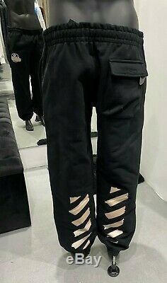 OFF-WHITE Tape Arrows Print Track Pants Size L 30 (100% Authentic & New)