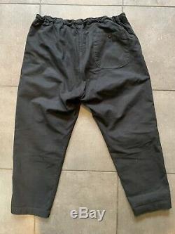 Orslow X The Bureau Mill Pant Sz XL Black