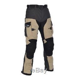 Oxford Montreal 2.0Motorcycle Motorbike Waterproof Textile Trouser Black/Desert
