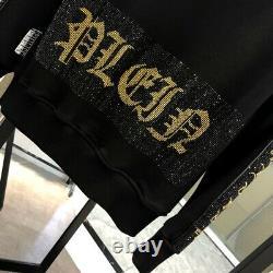 Philipp Plein Men Hoodie Outwear Sweatshirt Tops / Crystal Sport Pants Tracksuit