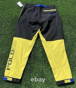Polo Ralph Lauren Flag Alpine Ski Pants Sz M MSRP $298 Skier 92 Color Block Tech