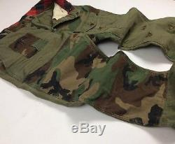 Polo Ralph Lauren Men Military Army Camo Patchwork Combat