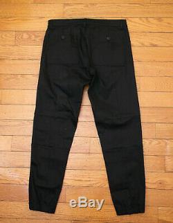 Prada Black Pants With Elastic Cuffs
