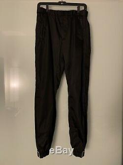 Prada Nylon Logo Trousers sz 46