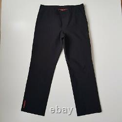 Prada goretex Water Proof Black Trousers-UK waist 37/Size 52 IT. RSP £1,900 Each