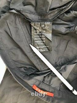 Prada sport linea Rossa archive cargo pants size 48 nylon black