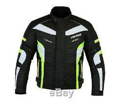 ProFirst Mens Motorbike Motorcycle Cordura Jacket Trouser Textile CE Armour Suit