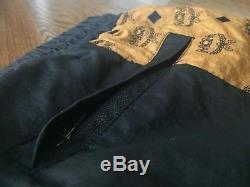 Puma x MCM Track Pants (size LARGE) MonoGram Cognac/Gold/Brown/Black/White (NEW)