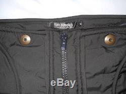 RAF SIMONS hyper-fitting pants Black Size 48 cool prompt decision F/S