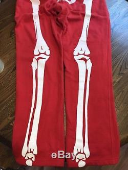 RARE NEW SAMPLE LRG Lifted Research Group Skeleton Halloween Dead Serious Pant