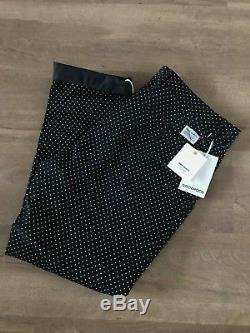 RARE Norse Projects X Goodhood Aros light twill dot black trousers 32 X 32