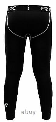 RDX Men's Thermal Compression Pants Running Cycling Gym Exercise Jogging Sport C
