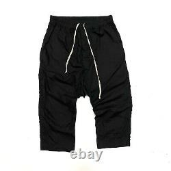RICK OWENS DRKSHDW Size L Large Mens Drop Crotch Harem Cropped Pants Cotton