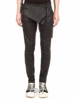 RICK OWENS Men's Black Memphis Pants Jeans