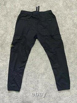 RRP £300 Stone Island Tela Parachute Regular Tapered Cargo Trousers 32W