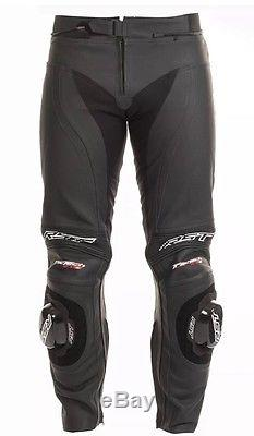 RST 1444 Tractech Evo II Mens Leather Jean Trouser Black Size 28 Brand New