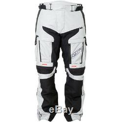 RST Motorbike Motorcycle Touring Pro Series Adventure 3 CE Textile Jeans Silver