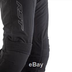 RST Syncro Textile Motorcycle Jean/Trousers -Black Short, Reg & Long Leg