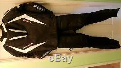 RST Tractech Evo 2 Motorcycle 2 PC Leathers Jacket & Trousers