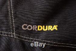 RUKKA Men Motorcycle Motorbike Gore Gex Cordura Salopettes Trousers Size 44