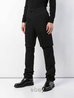 Raf Simons Space Pants Slim Fit Cargo Italy A/W 18/19 US Size 32 x 39 EU Size 48