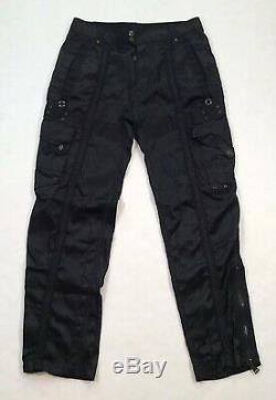 Ralph Lauren Black Label Men Police Gun Pocket Shooting Hunting Cargo Tech Pants