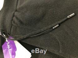 Ralph Lauren Purple Label Wool & Cashmere Blend Spa Leisure Pants $995 Black New