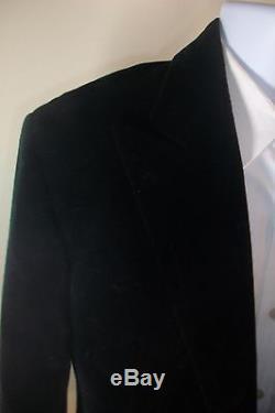 Ralph lauren polo tuxedo made in italy black velvet jacket blazer NWT