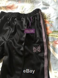 Rare Needles Pants Black Purple Size M Japan