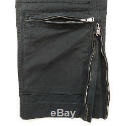 Rare VTG RLX Ralph Lauren Tactical Pockets Cargo Pants 90s Polo Black NWT 36/30