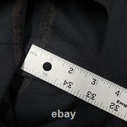 Rare Vtg Carol Christian Poell A/W'98-99' Solid Black Wool Blend Pants sz44 EUC
