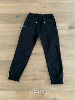Rick Owens Bauhaus Jogger Pants size 52 in black