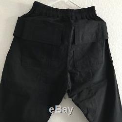 Rick Owens Black Cargo Pant Creatch Sphinx DRKSHDW Size XS
