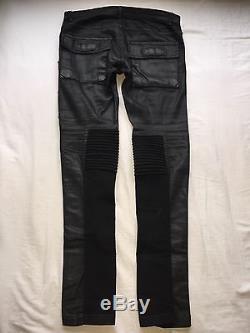 Rick Owens Black Memphis Trousers Size 28 100% Authentic
